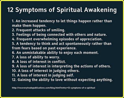 The 12 Symptoms of Spiritual Awakening