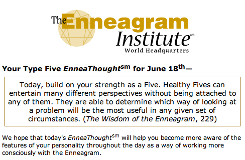 EnneaThought example