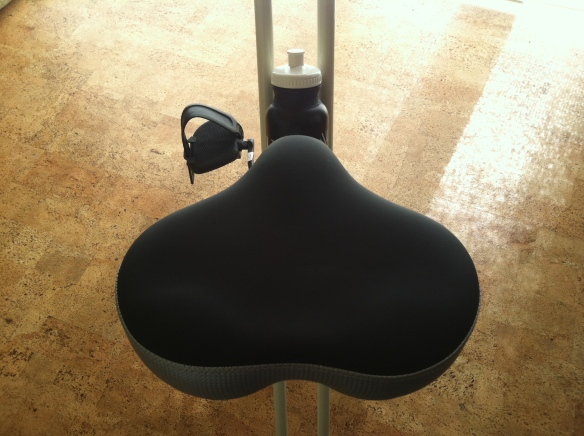 FitDesk bike seat