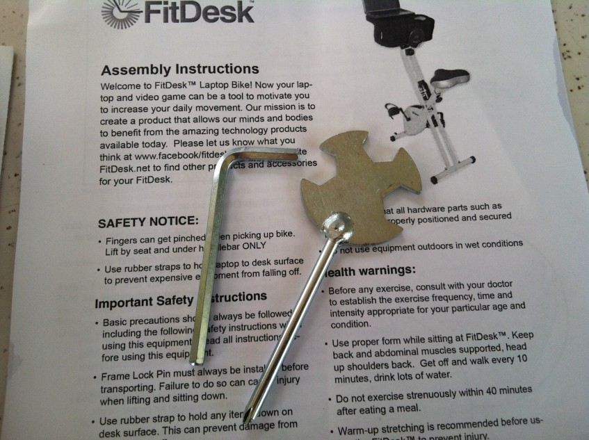 FitDesk assembly tools